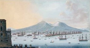 British Fleet in the Bay of Naples c1800