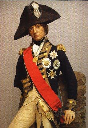 Nelson's effigy in wax
